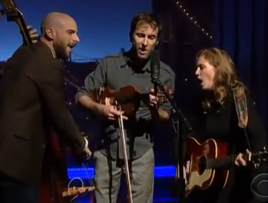 Tift and Andrew Bird on Letterman
