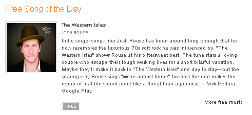 Josh Rouse on Google Play