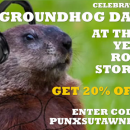 Groundhog Day Coupon Sale